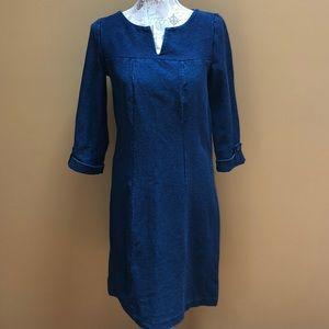 Boden Soft Denim Dress 6